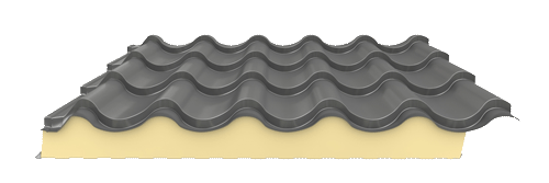 Isotigla neagra orizantal